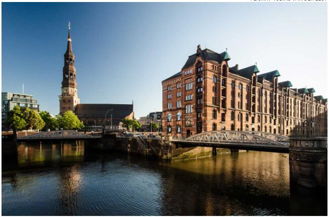 Hamburg's cityscape