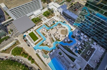 Lazy River at the Marriott Marquis Houston