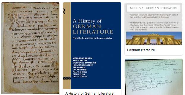 Early New High German Literature 1